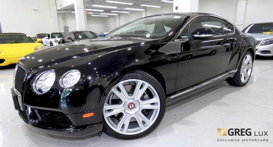 2014 Bentley Continental GT V8 V8 #0