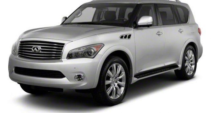 2011 INFINITI QX56 8-passenger #0