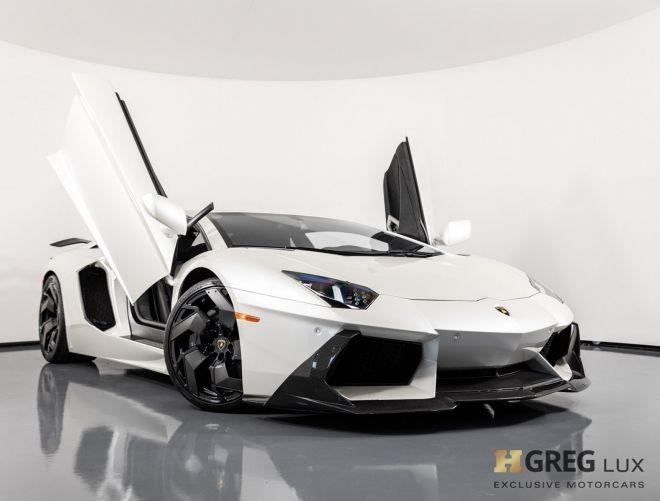2015 Lamborghini Aventador LP700-4 #0