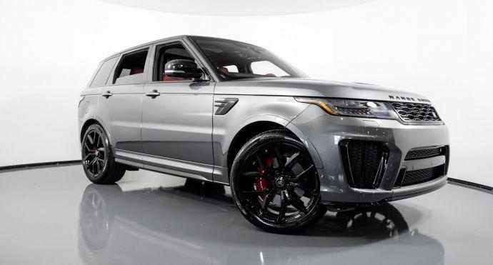 2019 Land Rover Range Rover Sport SVR #0