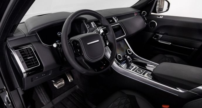 2019 Land Rover Range Rover Sport SVR #1