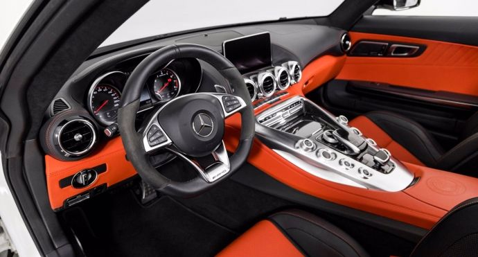 2018 Mercedes Benz AMG GT AMG GT C #1
