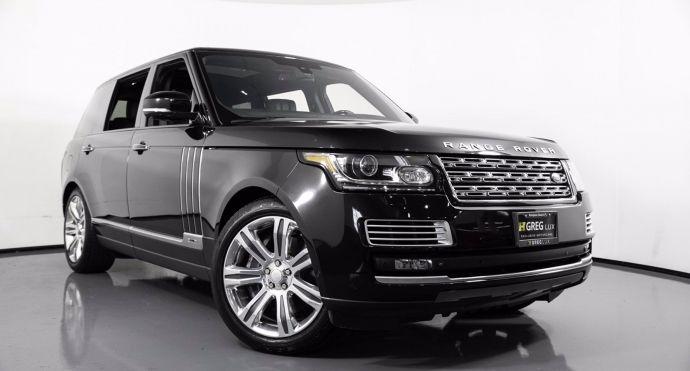 2015 Land Rover Range Rover Autobiography Black #0