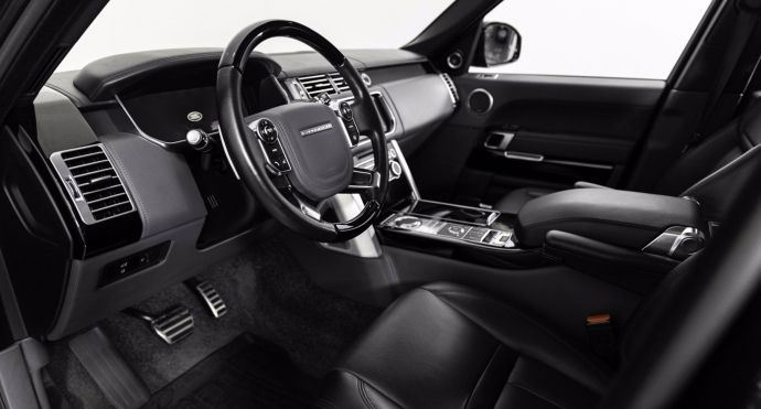 2015 Land Rover Range Rover Autobiography Black #1