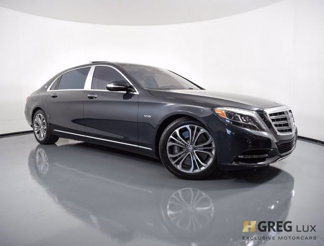 2016 Mercedes Benz S Class Maybach S 600 #0