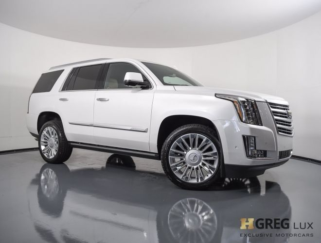 2020 Cadillac Escalade Platinum #0