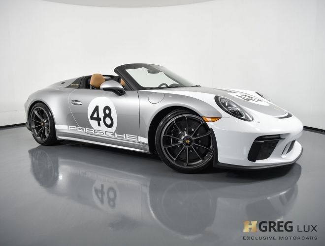2019 Porsche 911 Speedster #0