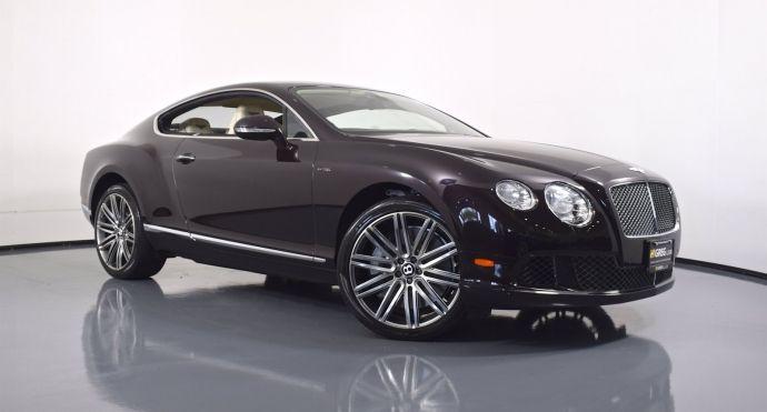 2014 Bentley Continental GT Speed Speed #0