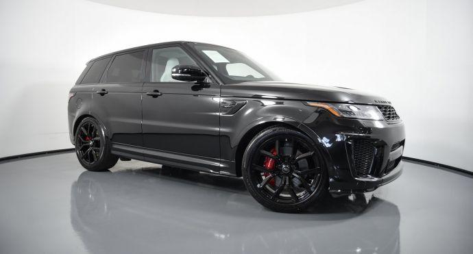 2020 Land Rover Range Rover Sport SVR #0