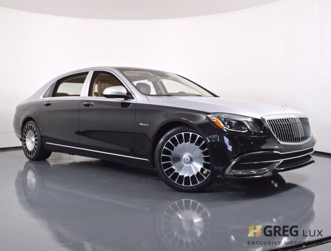 2020 Mercedes Benz S Class Maybach S 560 #0