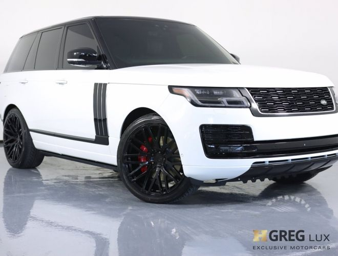 2019 Land Rover Range Rover SV Autobiography Dynamic #0
