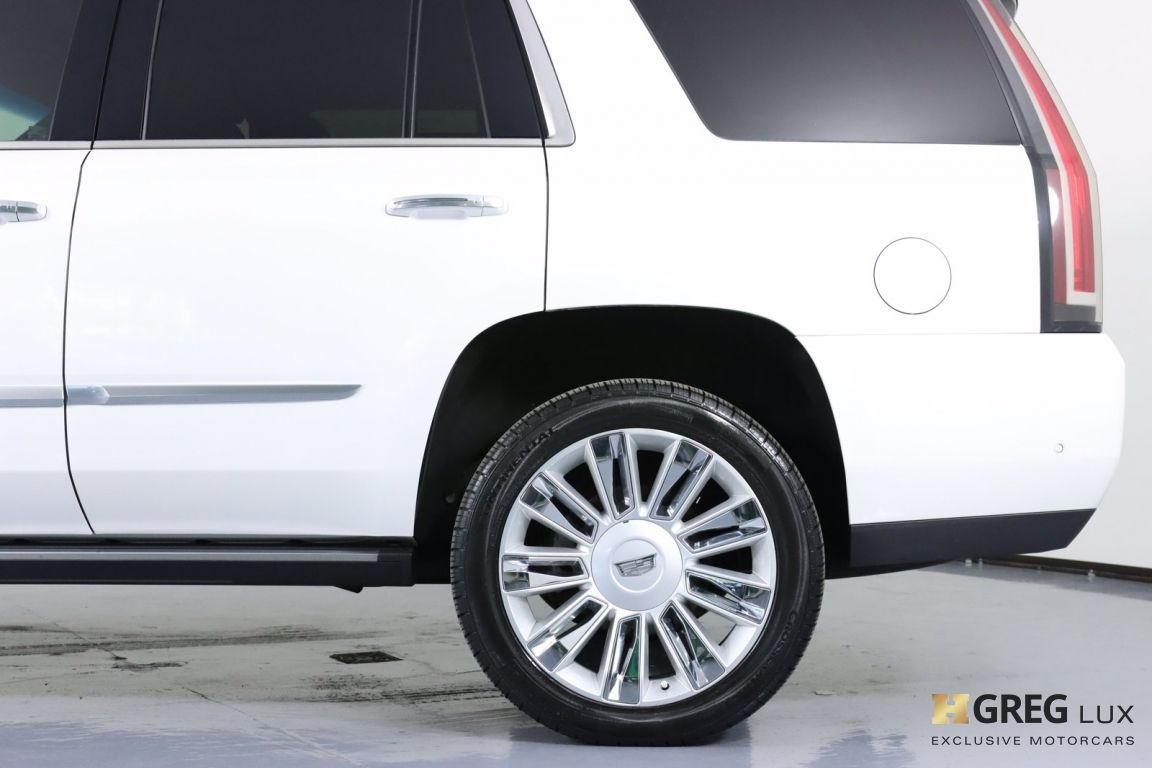 2017 Cadillac Escalade Platinum #25