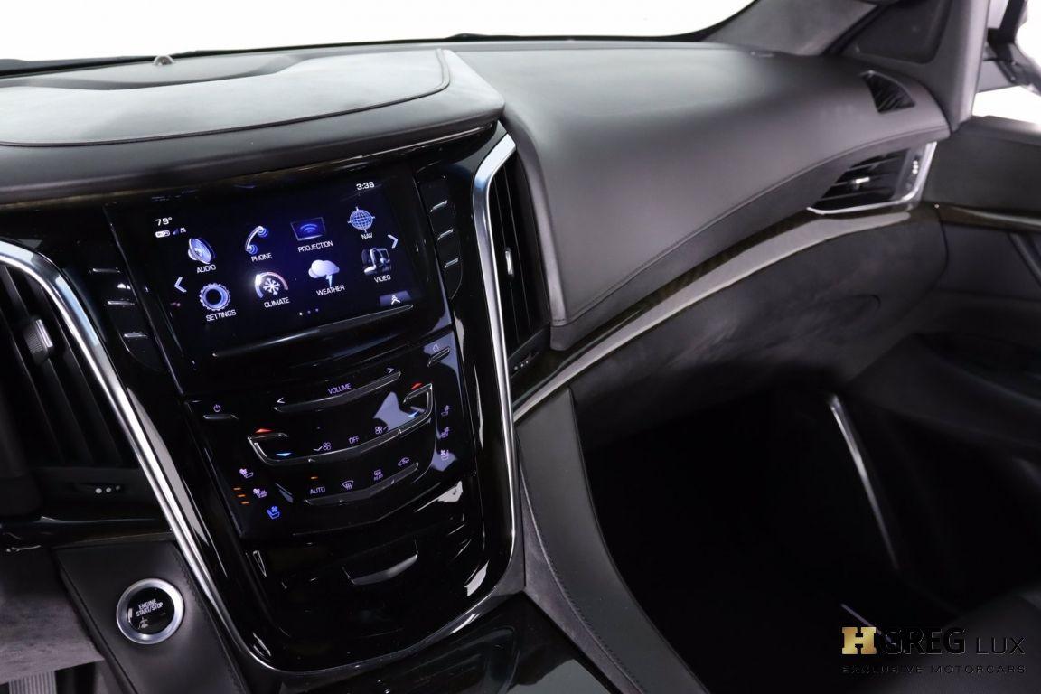 2017 Cadillac Escalade Platinum #46