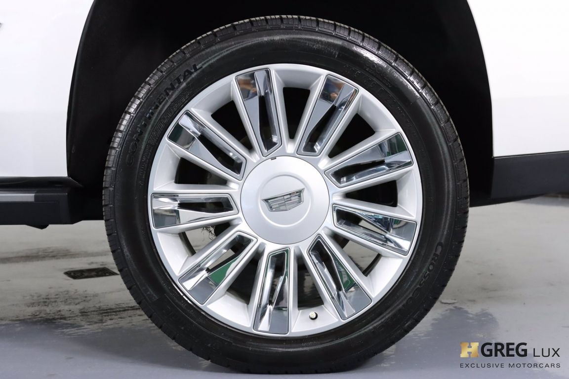 2017 Cadillac Escalade Platinum #26