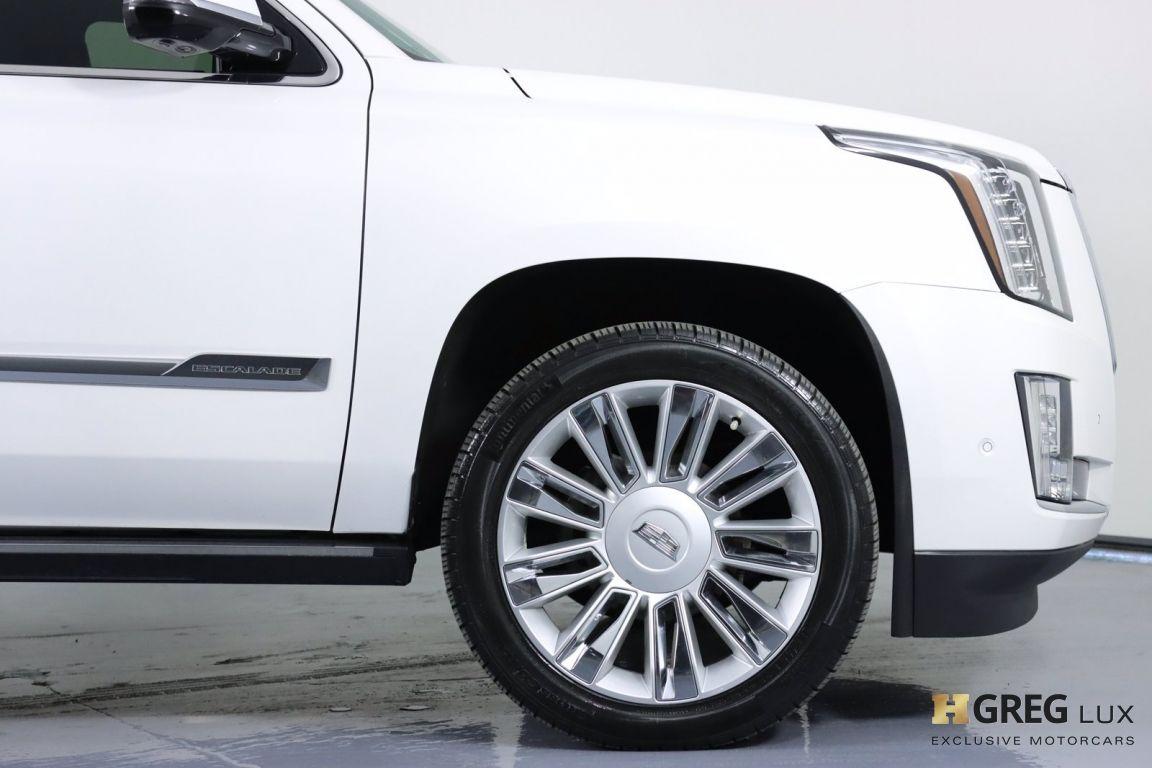 2017 Cadillac Escalade Platinum #11