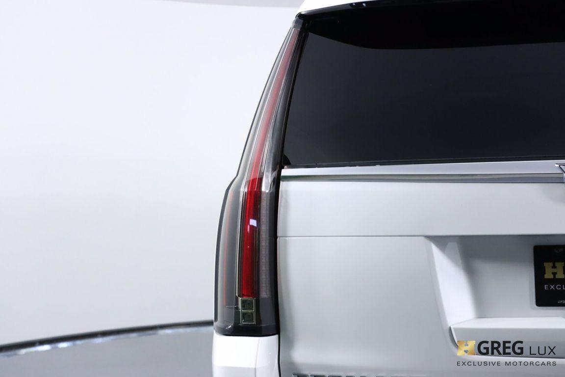 2017 Cadillac Escalade Platinum #17