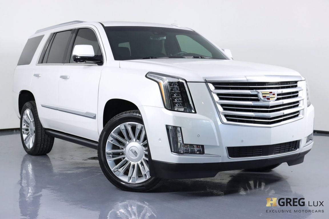 2017 Cadillac Escalade Platinum #0