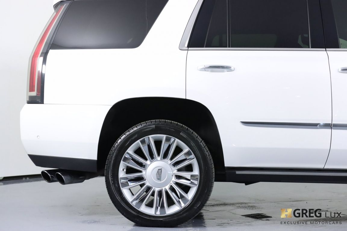 2017 Cadillac Escalade Platinum #13
