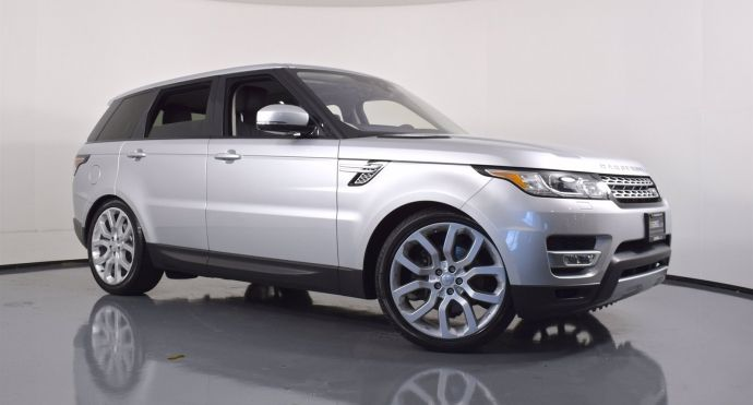2017 Land Rover Range Rover Sport HSE #0