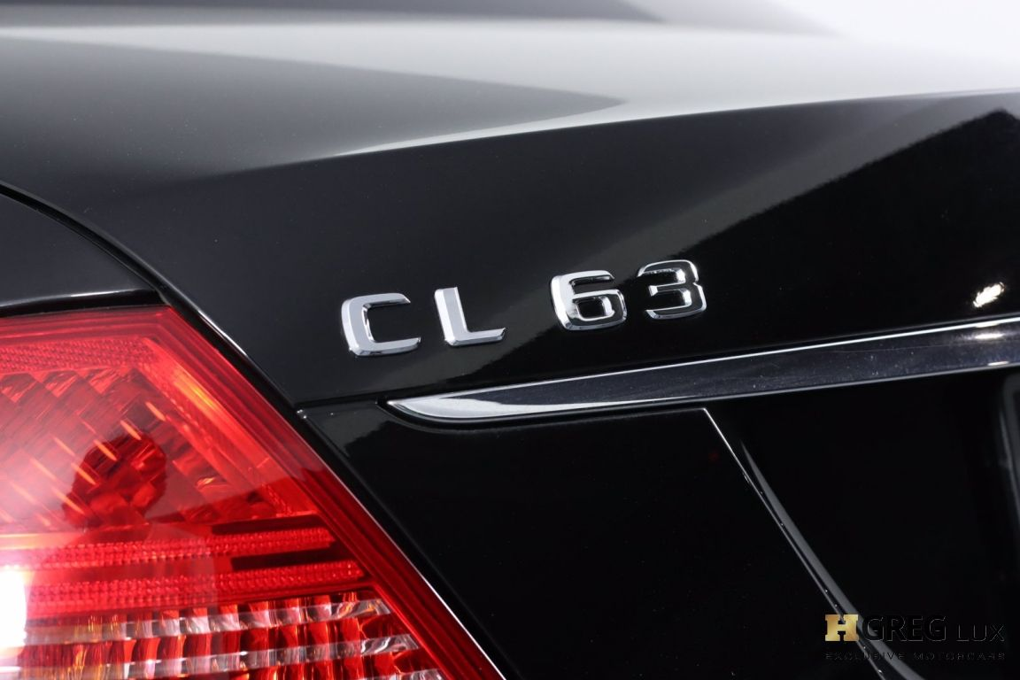2008 Mercedes Benz CL Class V8 AMG #26