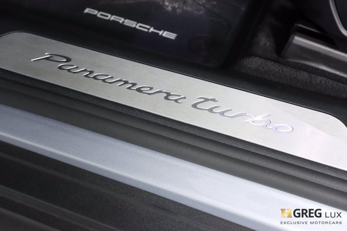 2018 Porsche Panamera Turbo #46