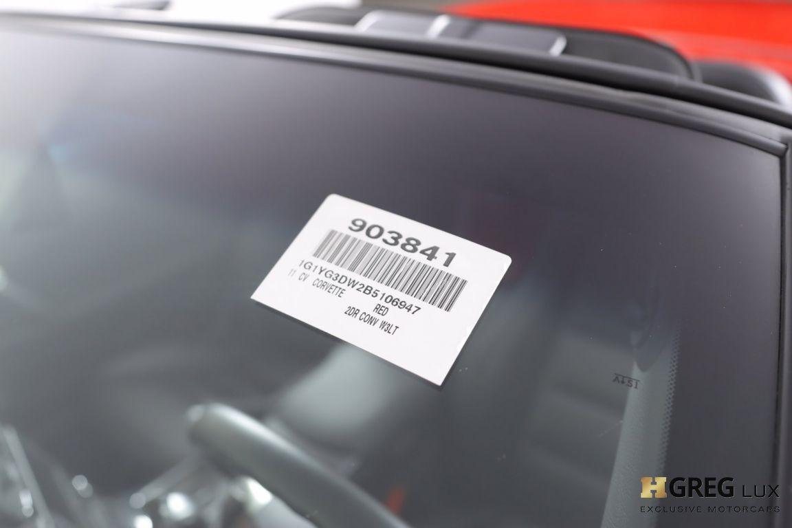 2011 Chevrolet Corvette w/3LT #46