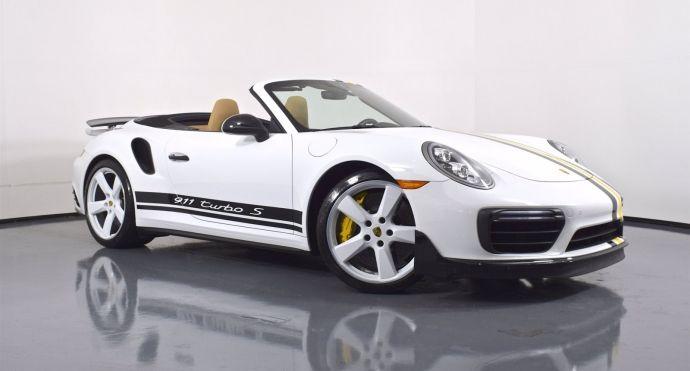 2019 Porsche 911 Turbo S #0