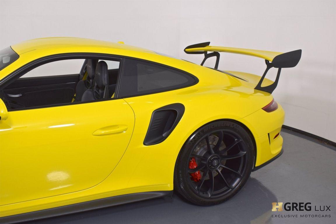 2019 Porsche 911 GT3 RS #10