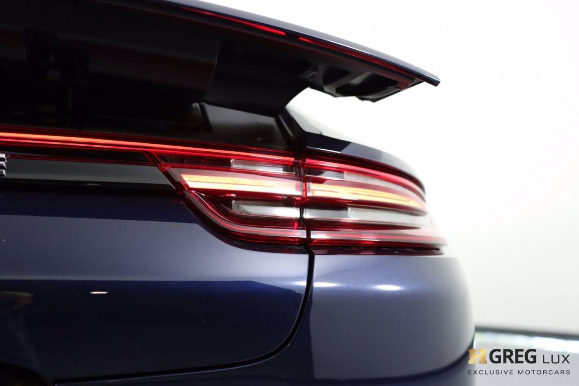 2017 Porsche Panamera Turbo #19