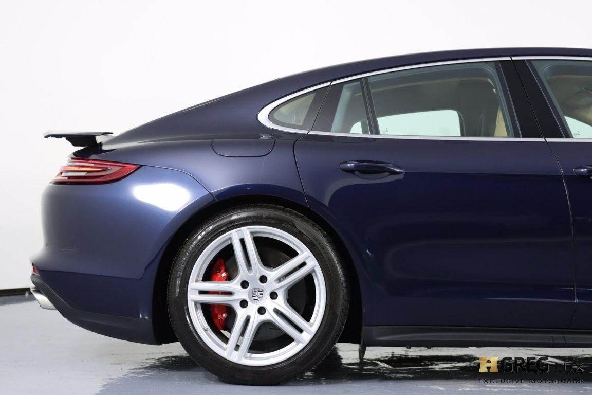 2017 Porsche Panamera Turbo #13
