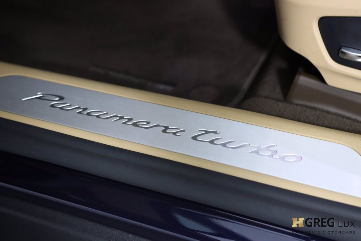 2017 Porsche Panamera Turbo #44
