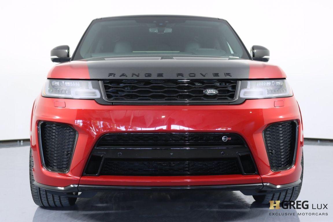 2020 Land Rover Range Rover Sport SVR #3