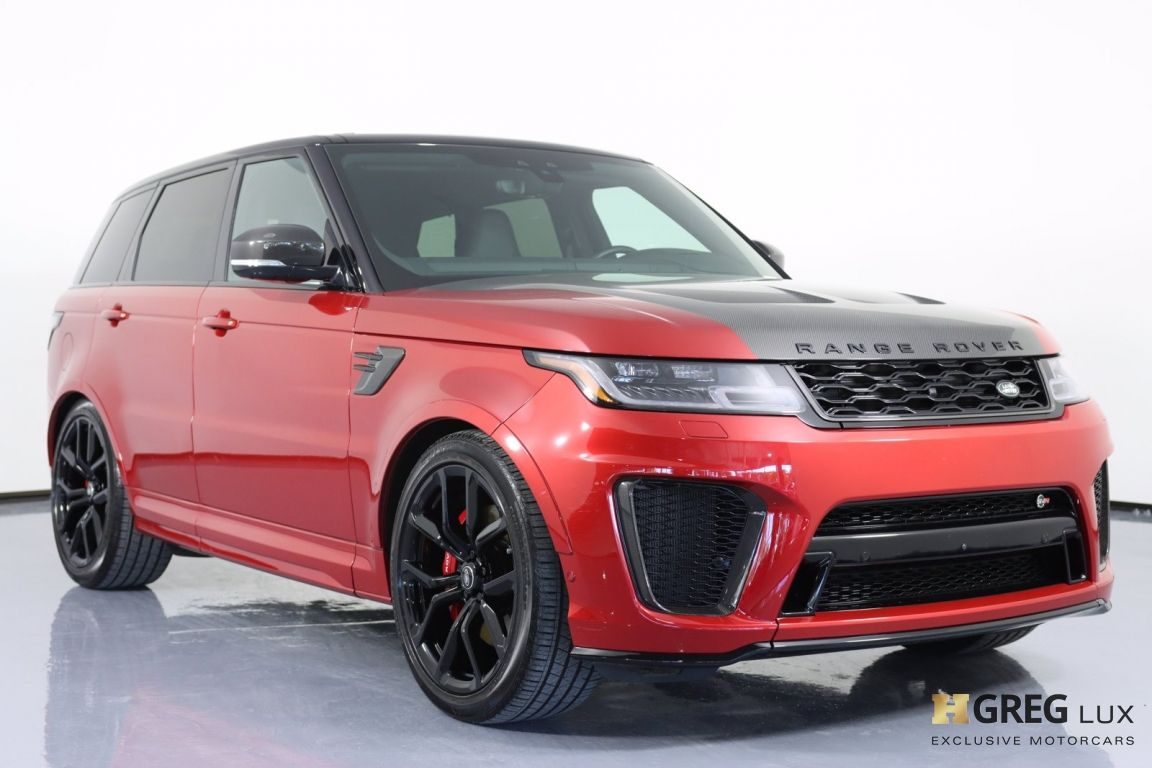 2020 Land Rover Range Rover Sport SVR #11
