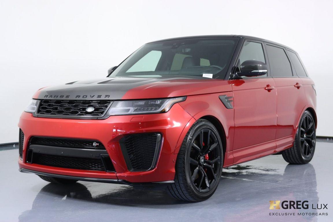 2020 Land Rover Range Rover Sport SVR #33