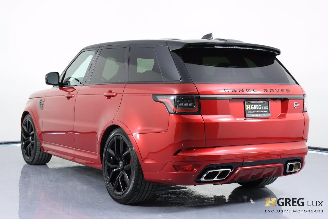 2020 Land Rover Range Rover Sport SVR #25