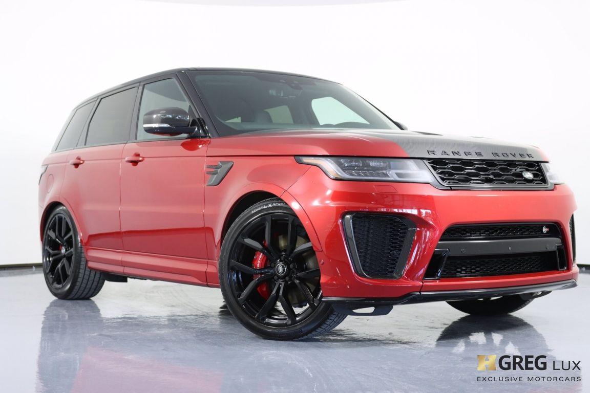 2020 Land Rover Range Rover Sport SVR #34