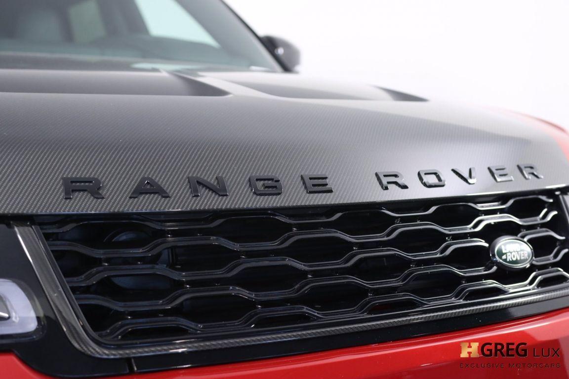 2020 Land Rover Range Rover Sport SVR #7