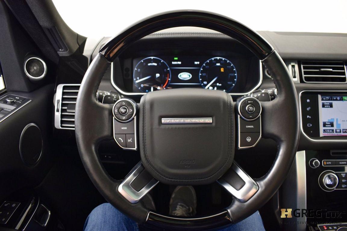 2016 Land Rover Range Rover HSE #16