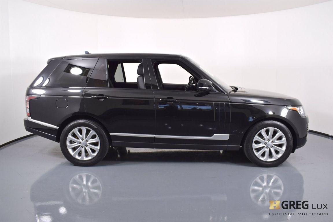 2016 Land Rover Range Rover HSE #5