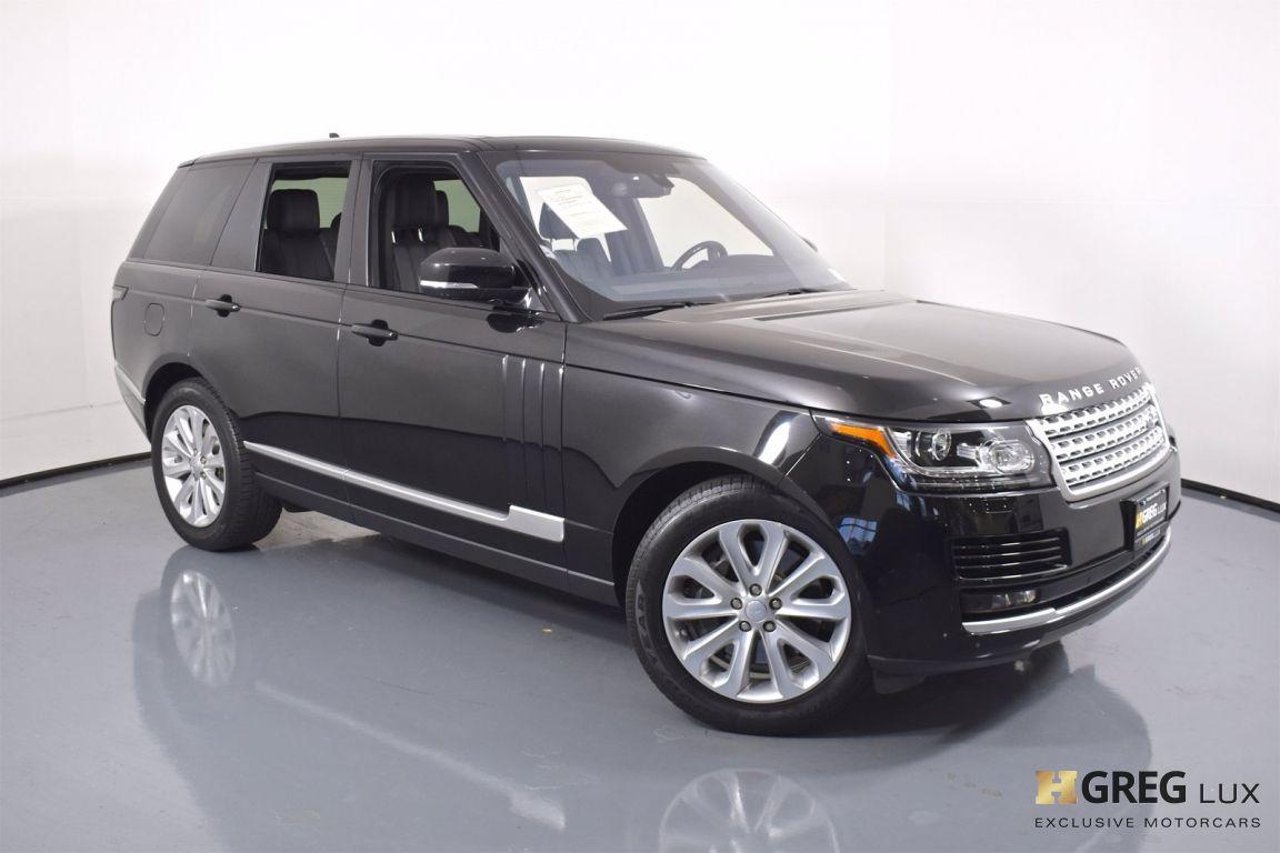 2016 Land Rover Range Rover HSE #2