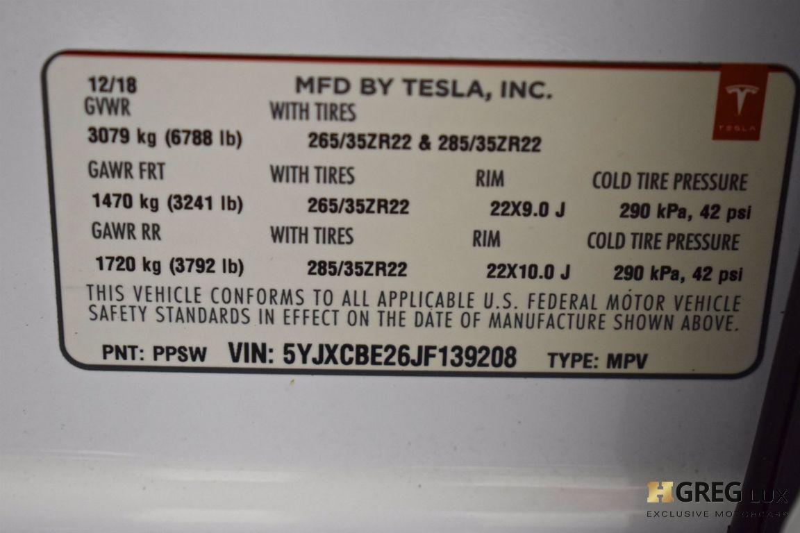2018 Tesla Model X 100D #29