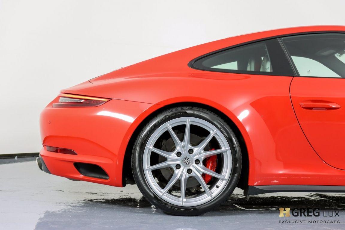 2017 Porsche 911 Carrera 4S #6