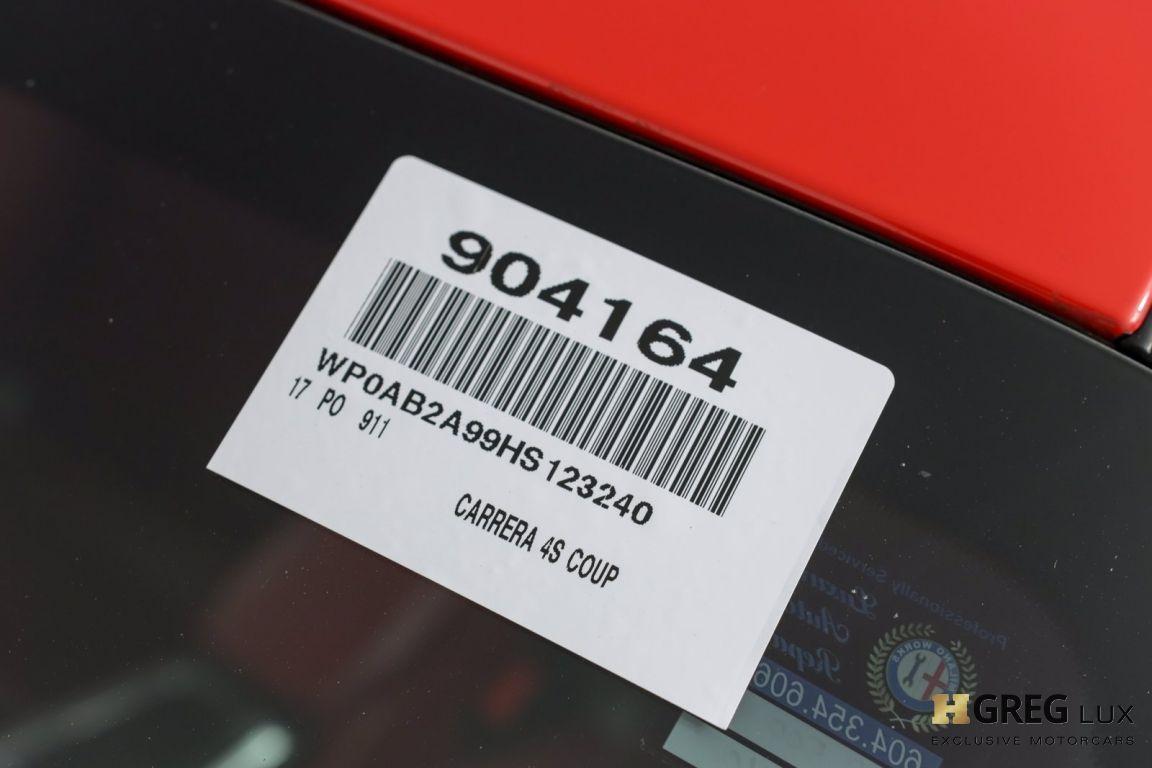 2017 Porsche 911 Carrera 4S #44