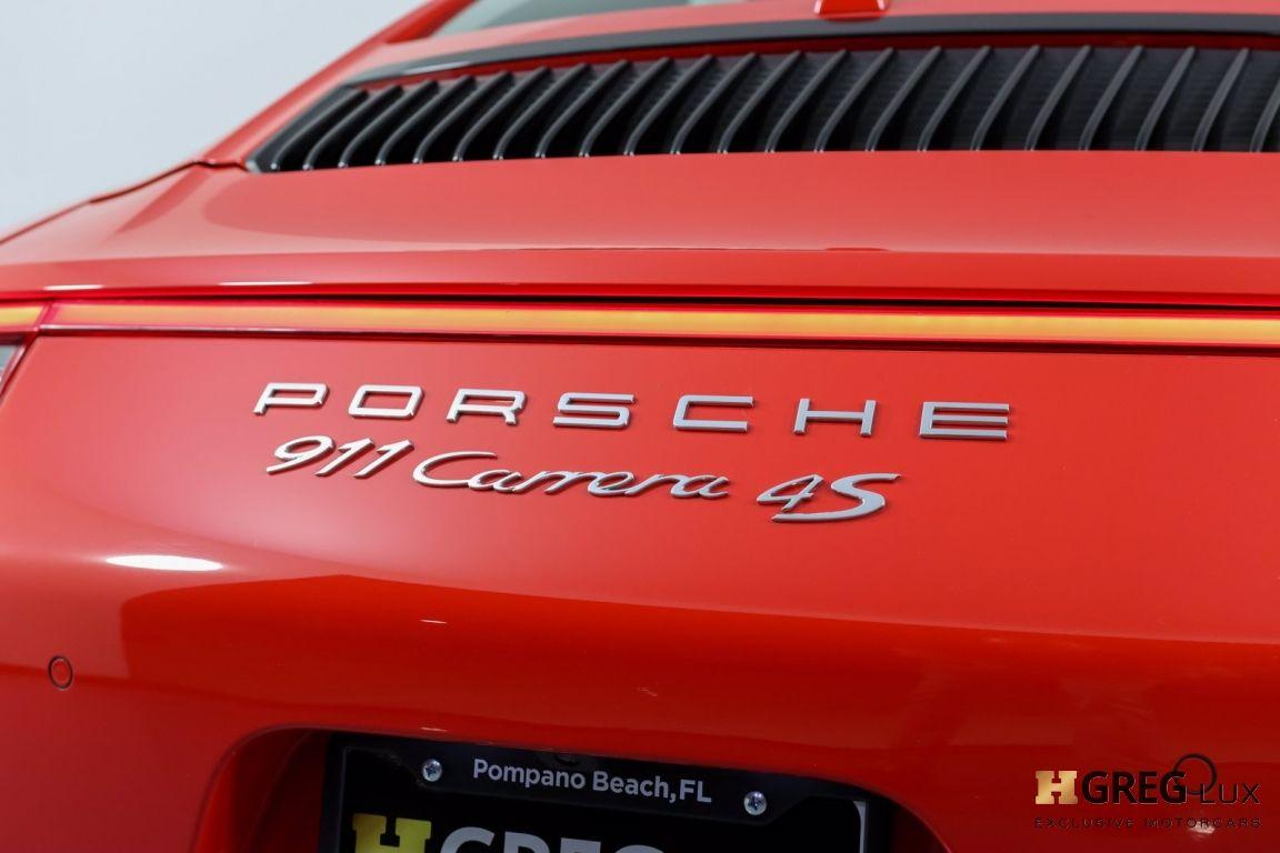 2017 Porsche 911 Carrera 4S #12