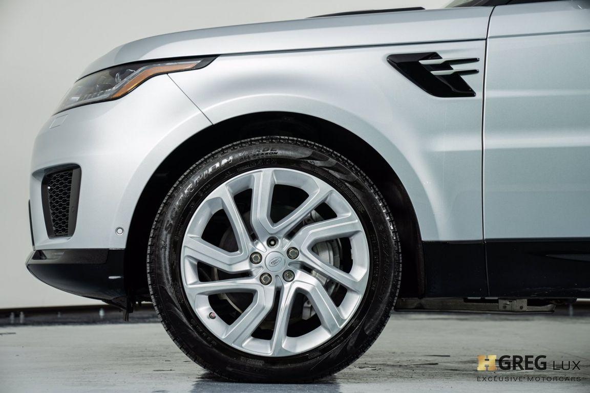 2018 Land Rover Range Rover Sport HSE #21