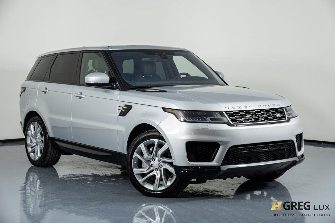 2018 Land Rover Range Rover Sport HSE #0