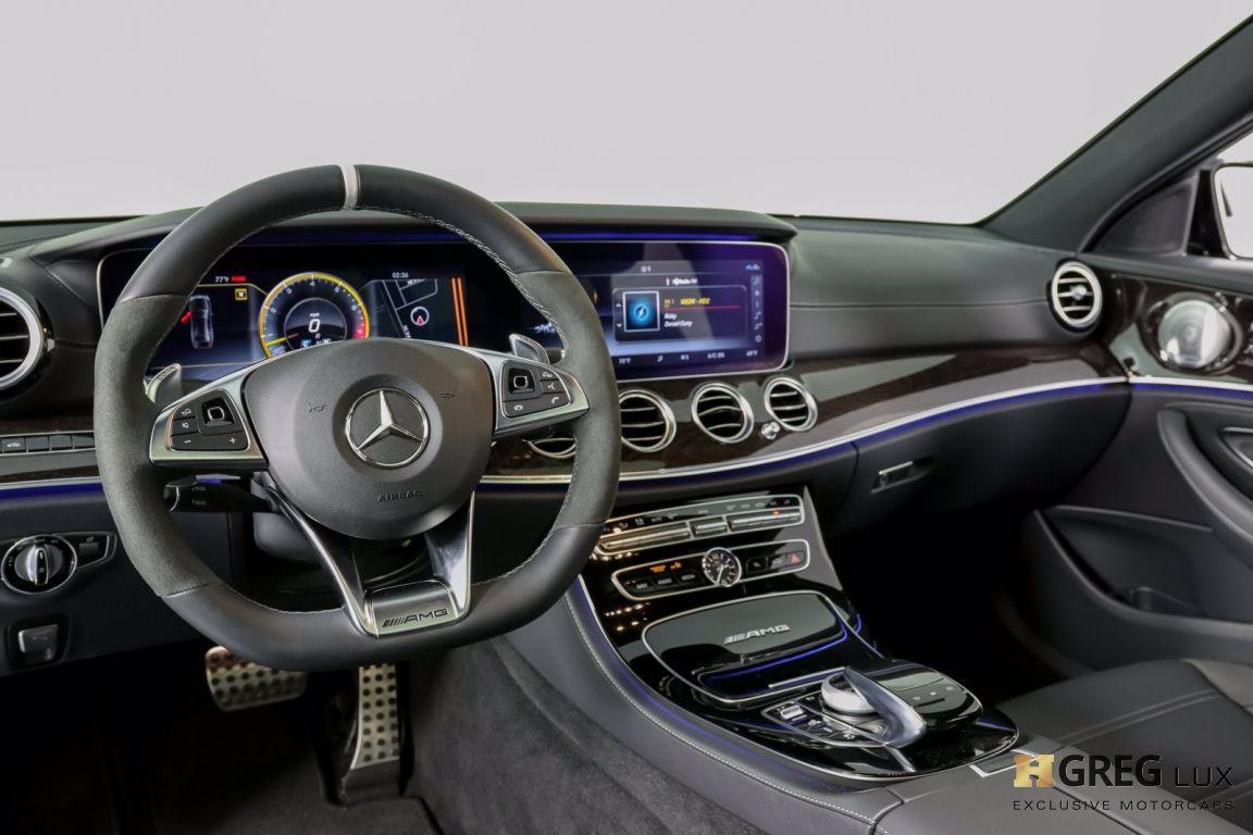 2018 Mercedes Benz E Class AMG E 63 S #1