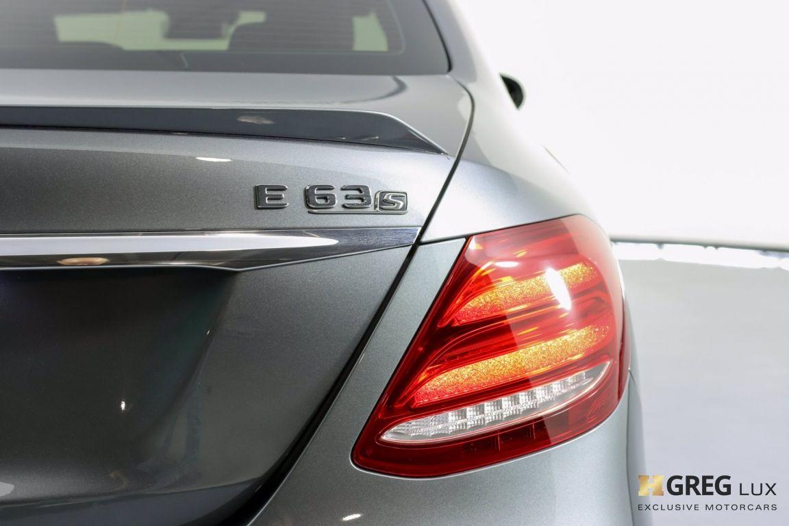 2018 Mercedes Benz E Class AMG E 63 S #18