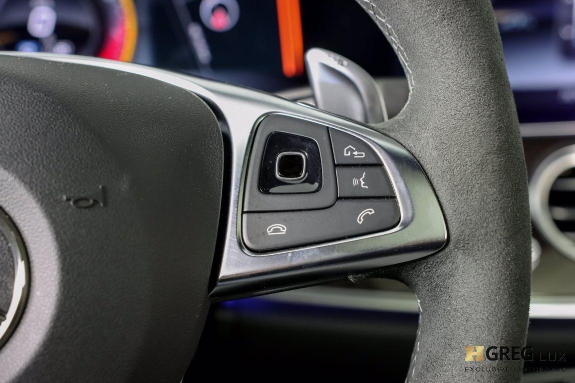 2018 Mercedes Benz E Class AMG E 63 S #49