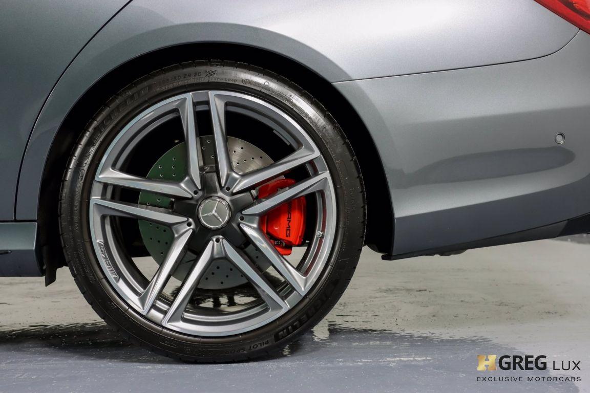 2018 Mercedes Benz E Class AMG E 63 S #25